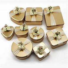 wedding party diy gift box cookie cake candy box tinplate