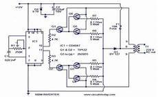 100 watt inverter circuit 171 indianengineer