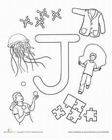 worksheets for letter j in preschool 23607 j is for worksheet education