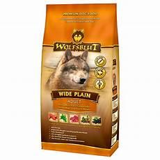 Wolfsblut Trockenfutter Junior - test erfahrungsbericht bewertung zu wolfsblut wide plain