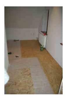 fussbodenaufbau dachgeschoss trittschalldaemmung