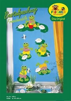 Malvorlagen Fensterbilder Sommer Fensterbild Bastelvorlage Froschmobile Fischer