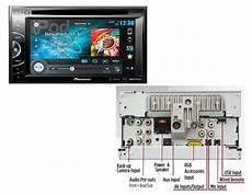 pioneer avh x2600bt dvd receiver 6 1 quot monitor w bluetooth new avhx2600bt ebay