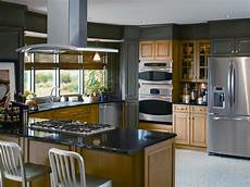 open concept gray kitchen hgtv