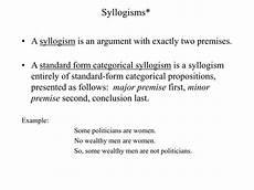 ppt syllogisms powerpoint presentation id 1253274