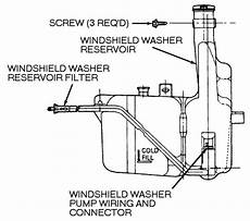 vehicle repair manual 1989 buick century windshield wipe control removing windshield washer pump on a 1997 buick century service manual removing windshield