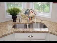 kitchen sink and faucet ideas corner kitchen sinks design decorating ideas
