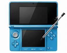 nintendo 3ds console consoles nintendo 3ds aqua blue console with stylus