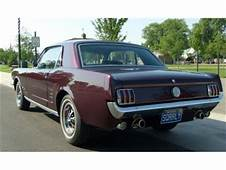 1966 Ford Mustang For Sale  ClassicCarscom CC 371733