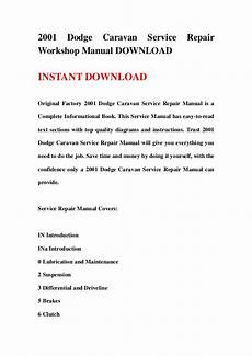 manual repair autos 2001 dodge caravan auto manual 2001 dodge caravan service repair workshop manual download