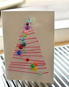 Grafische Weihnachtskarten Advents Basteln Mit