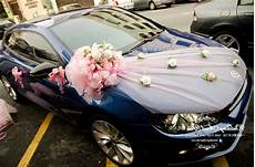 wedding car decoration beautiful wedding decor