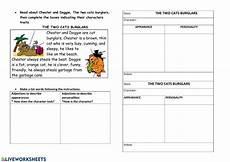 describing s personality worksheets 15903 character traits interactive worksheet