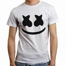 jual buy 1 get 1 free kaos dj marshmello face 1 hitam t shirt marshmallow marshmellow edm