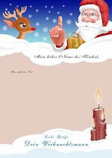 brief vom weihnachtsmann 187 standardbrief bestellen