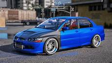 mitsubishi evo lancer mitsubishi lancer evo 8 add on gta5 mods