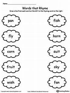 3 letter rhyming words worksheets for kindergarten 23526 connect rhyming pictures with words ending in et en ub it or op rhyming worksheet rhyming