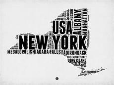 new york word cloud map 2 digital by naxart studio