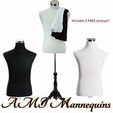 2 male mannequin torso s covers to renew dress form size