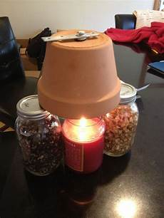 candle powered pottery heater 4 steps with pictures