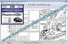 small engine repair manuals free download 2010 bentley brooklands interior lighting vw phaeton workshop manual