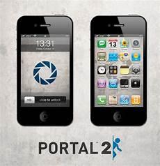 portal 2 iphone wallpaper portal 2 iphone wallpaper lite by sirpatrick1st on