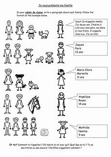 worksheets la famille 18941 family ma famille teaching resources