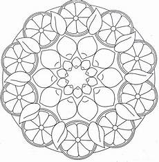 Ausmalbilder Mandala Obst Crafts Actvities And Worksheets For Preschool Toddler And