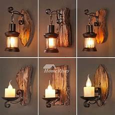 black single light wall sconce pub coffee bedside metal glass candle vintage cool