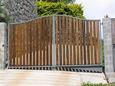 fabrication portail bois portail bois m 233 tal lyon aif creation