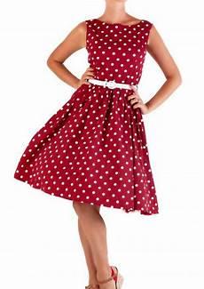 lindy bop 50er jahre rockabilly petticoat punkte kleid