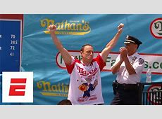 nathan's hot dog eating contest related people