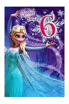 Malvorlagen Frozen Happy Birthday Disney Frozen Elsa 6th Birthday Card 3d