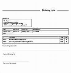 lieferschein vorlage doc free 36 sle delivery note templates in ms word