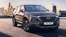 News 2019 Hyundai Santa Fe To Offer Mild In Hybrid