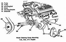 i m looking for the bracket layout for a 1989 k 1500 and 350 c i engine with a c i can t locate