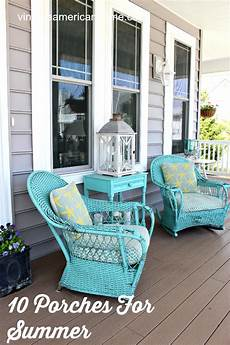Front Porch Decorations by 10 Front Porch Decorating Ideas Vintage American Home