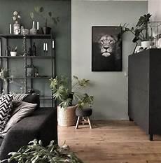 Mur Gris Vert Kaki Clair D 233 Co Salon Kaki