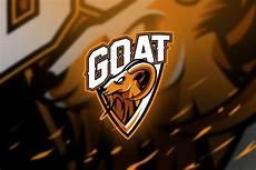 goat mascot esport logo in 2020 logos mascot goats