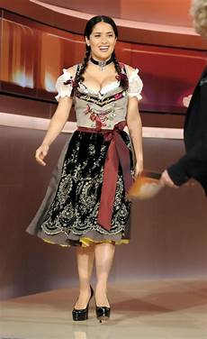 Salma Hayek Dirndl - salma hayek photos photos on the tv show quot wetten