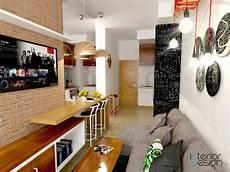 Ruang Santai Apartemen Jakarta Interiordesign Id