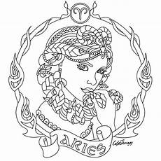 constellation of taurus worksheet aries zodiac colouring page colouring