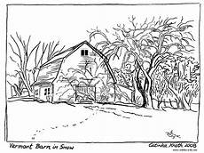 landscape coloring pages coloring home