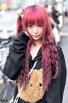 harajuku style hair harajuku in oversized sweatshirts pins nesin