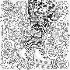 winter puzzle coloring pages printable winter themed