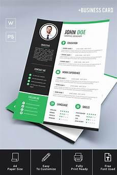 business card template doe doe resume template business card resume template