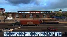 ats garage big garage and service for ats v1 mod american truck