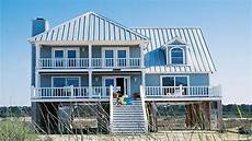 waterfront house plans on pilings beach house plans on pilings beach house plans narrow
