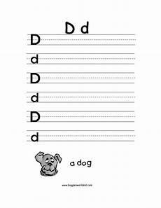 letter d alphabet worksheets