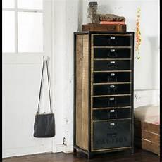 chiffonnier maison du monde semainier manufacture mobilier de salon semainier mobilier